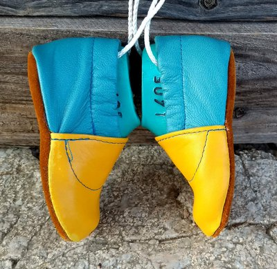 Chico bleu jaune