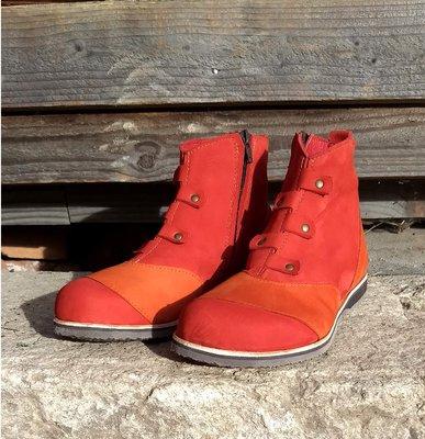 Spats Red Orange